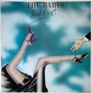 Babys ‎(The) - Head First (LP) (VG+/VG-)